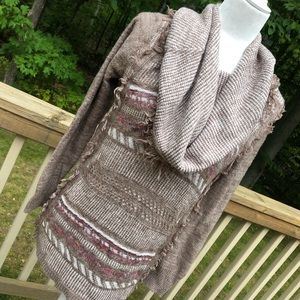 Knox Rose sweater with Cowl Neck size M